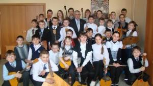 Оркестр русских народных инструментов, младших классов