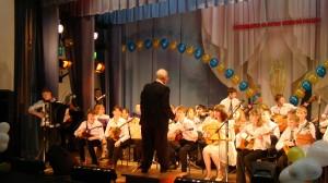 Оркестр русских народных инструментов, старших классов