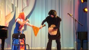 Герои мультфильма Маша и Медведь