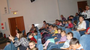 Юные зрители пришедшие на концерт