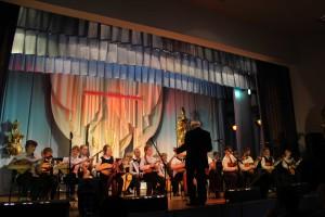 Оркестр РНИ младших классов, руководитель И. В. Климко