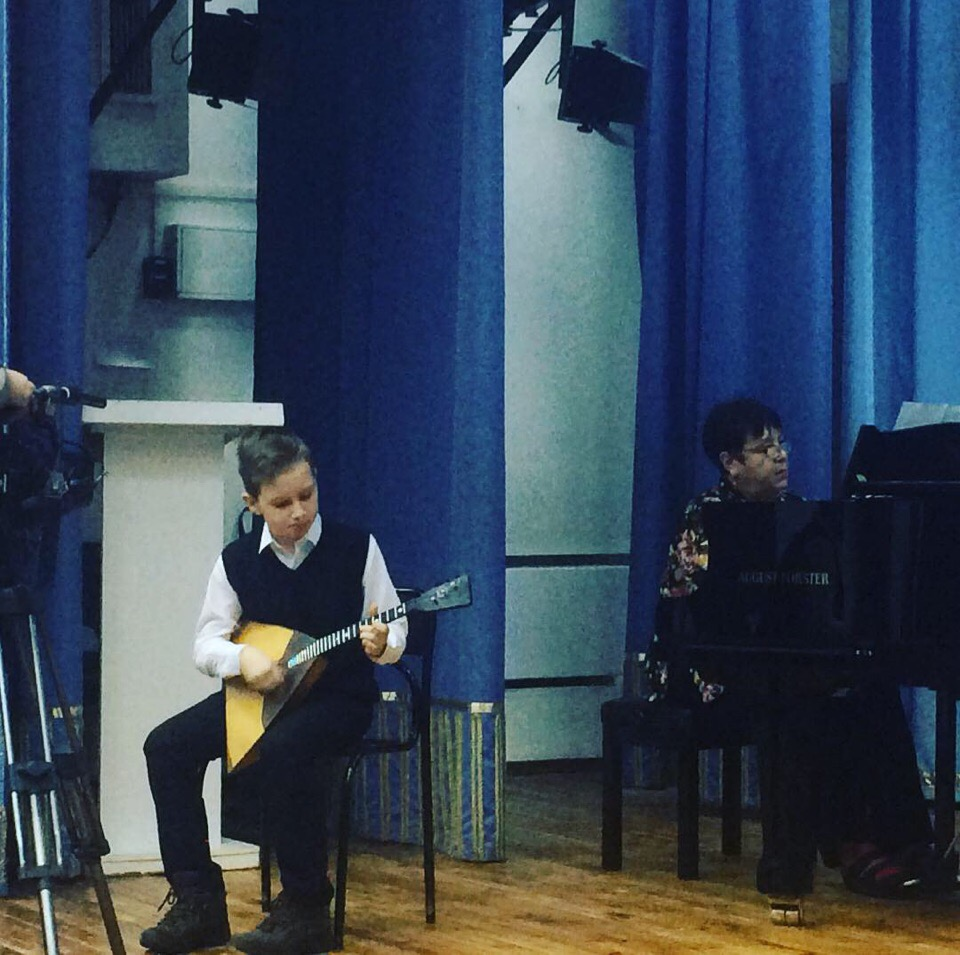 Подготовка участников к V Всероссийскому конкурсу исполнителей на народных инструментах